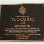 Halpatiokee Chapter DAR - Tuckahoe Marker